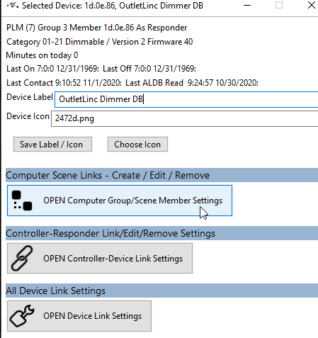 choose computer groups device setup